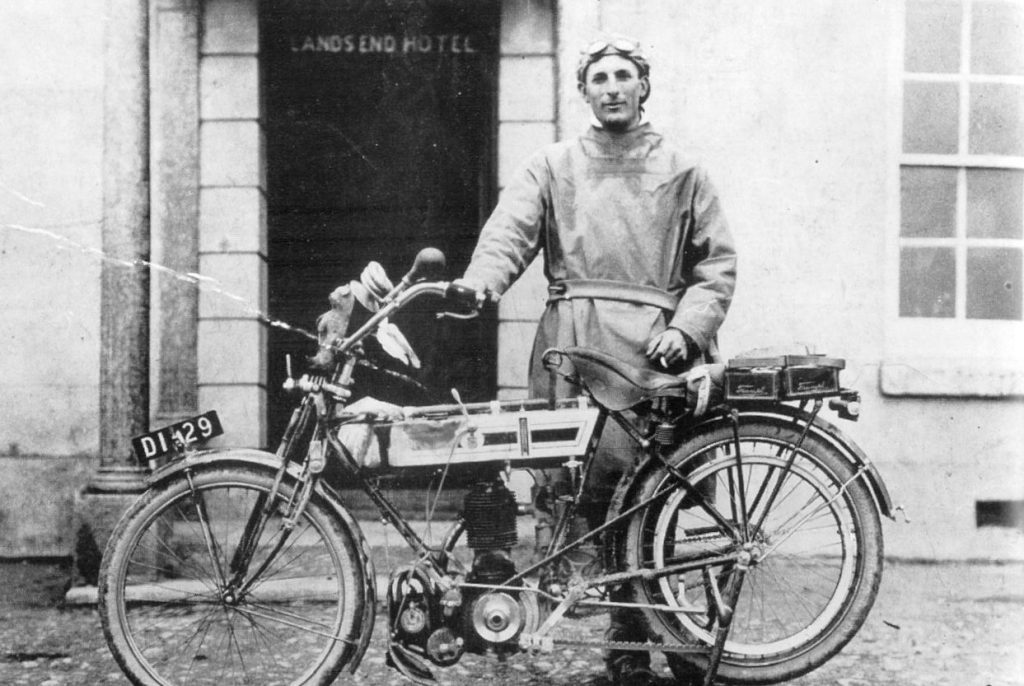 The History of Triumph Motorycles