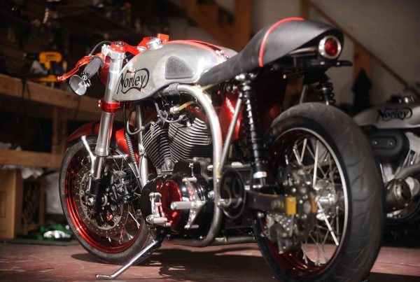 Norley Cafe Racer by Santiago Chopper - MotoMatter