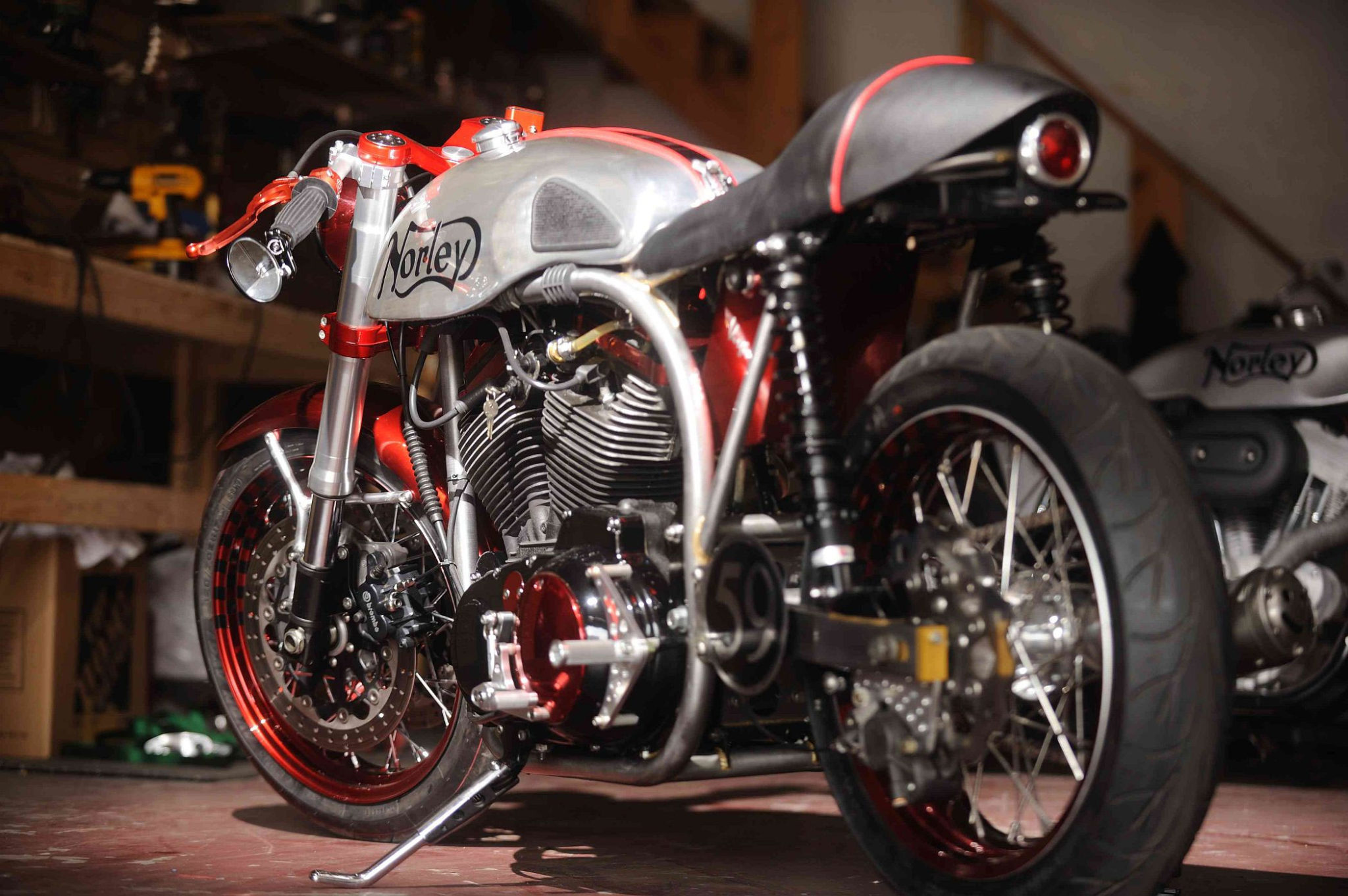 Norley Cafe Racer by Santiago Chopper