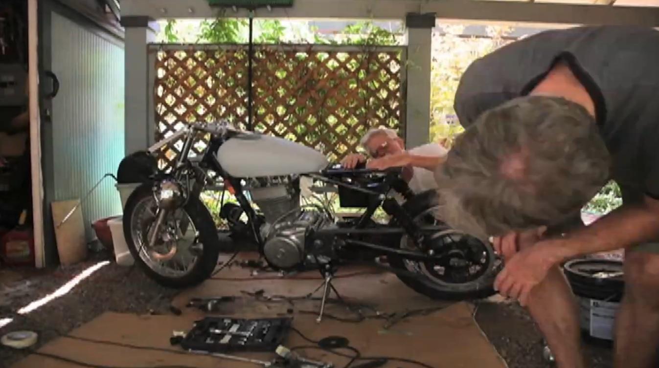 A Ryca Cafe Racer Built by Ben Long