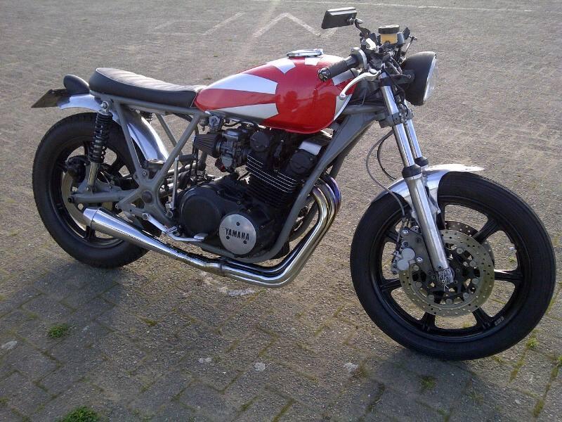 Yamaha XS750 Cafe Racer by Hans Dijstelbloem