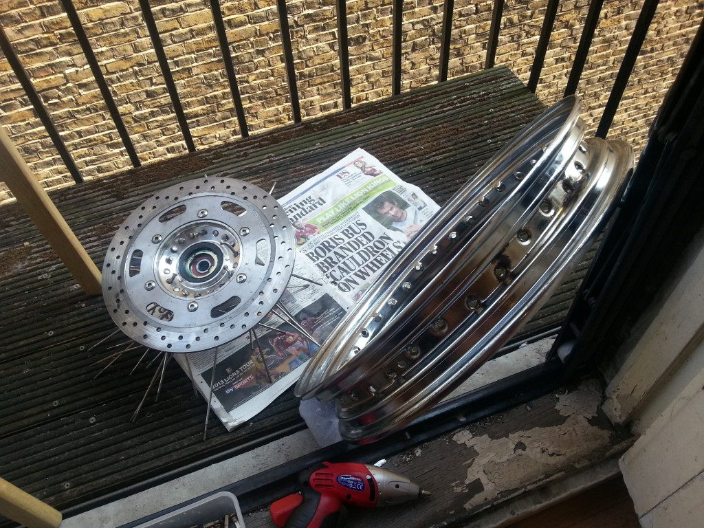 How To Lace Motorcycle Wheels