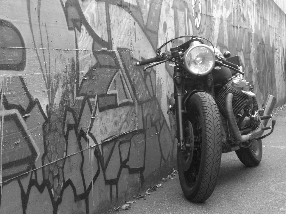 Moto Guzzi Cafe Racer by Andrea Viganò