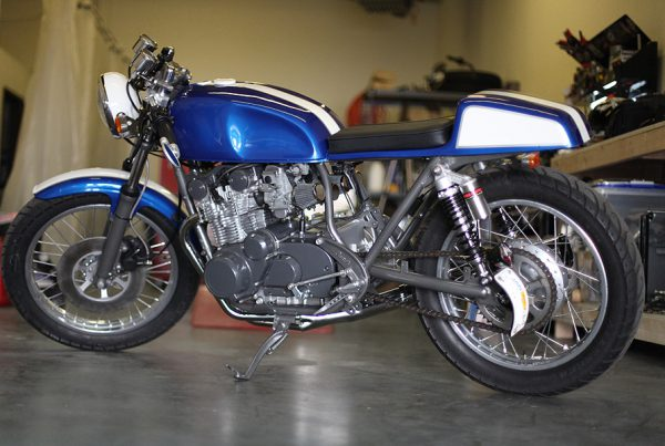 Suzuki GS550 Cafe Racer by Chappell Customs - MotoMatter