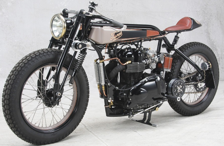 Triumph TT Deluxe Cafe Racer by LC Fabrications