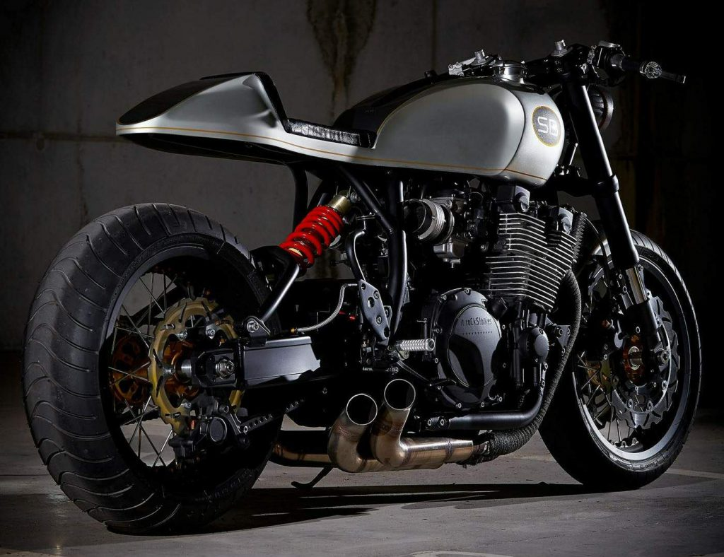 Yamaha XJR1200 Cafe Racer by roCkS bikes
