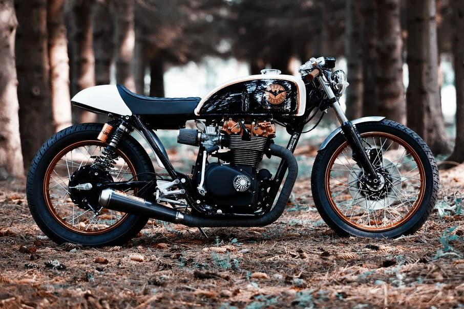 "Honda CB500 Cafe Racer ""Kuri Kuldnokk"""