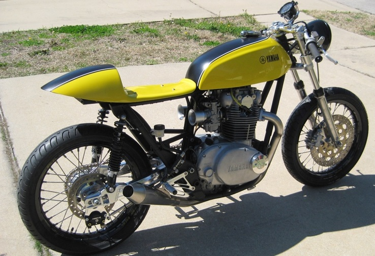 "Yamaha XS650 Cafe Racer ""The Hornet"""