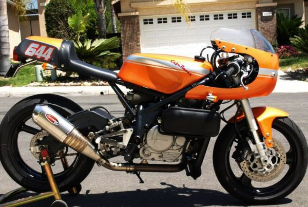Honda XR650L Cafe Racer by Citrus - MotoMatter