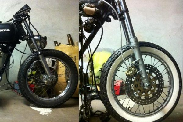 How To Make White Wall Tires (Cafe Racers) - MotoMatter