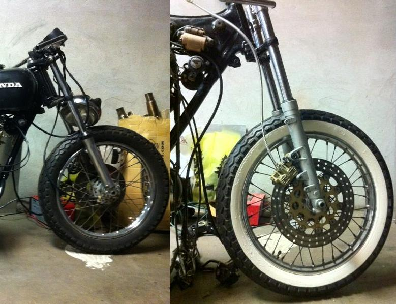 How To Make White Wall Tires (Cafe Racers)