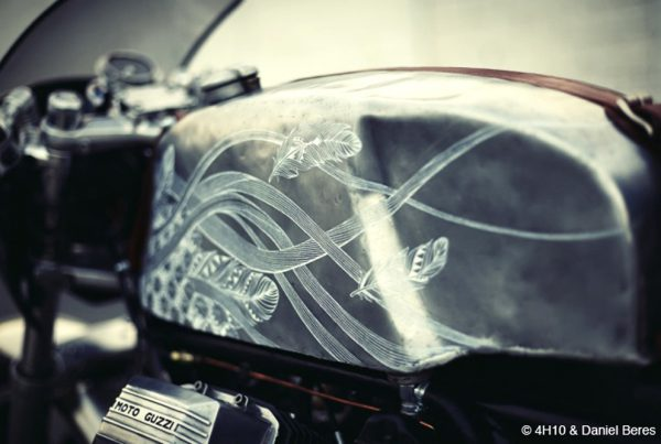 Moto Guzzi Scrambler Midnight Phoenix by 4H10 - MotoMatter
