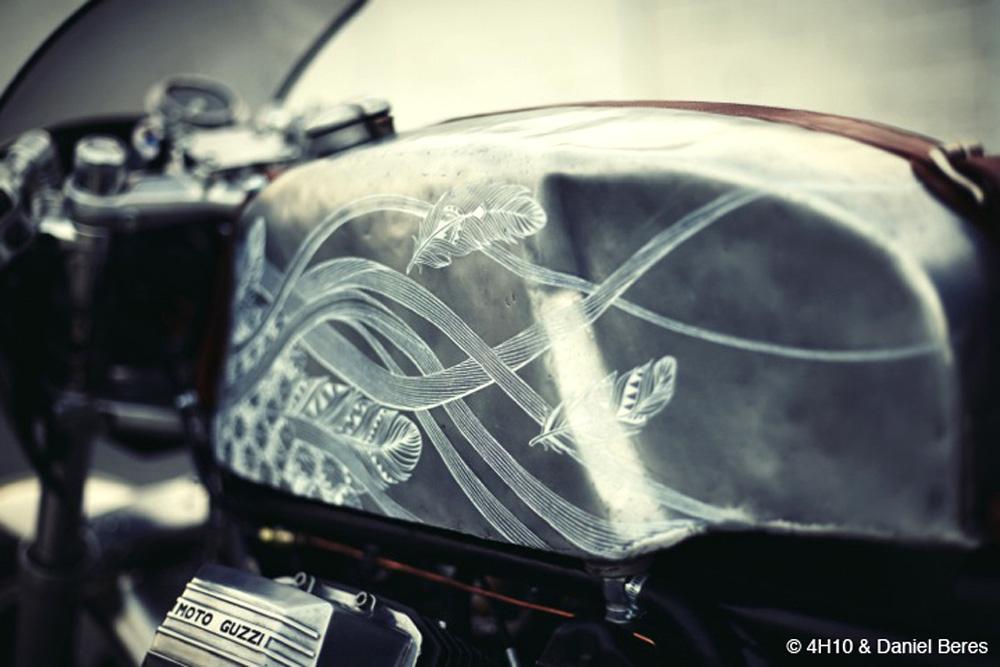 Moto Guzzi Scrambler Midnight Phoenix by 4H10