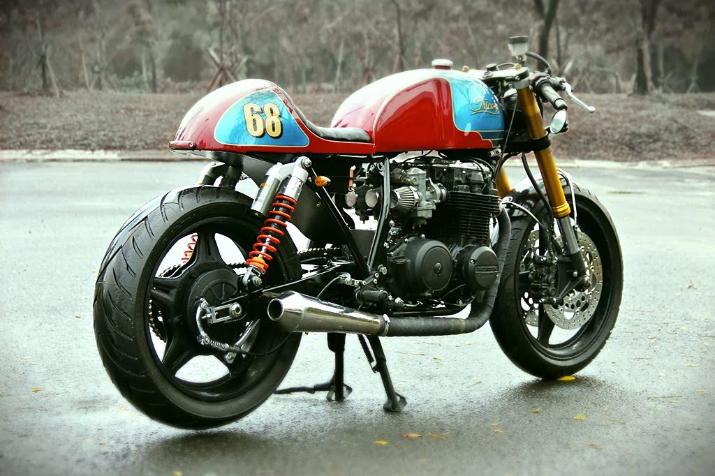 "Honda CB650 Cafe Racer ""The Tricore"" by Studio Motor"