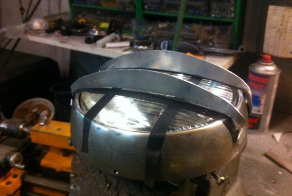 How To Make an Oldskool Cafe Racer Headlight - MotoMatter