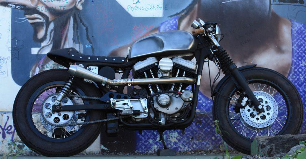 Harley Davidson Sportster Cafe Racer by Sylvain Barrel