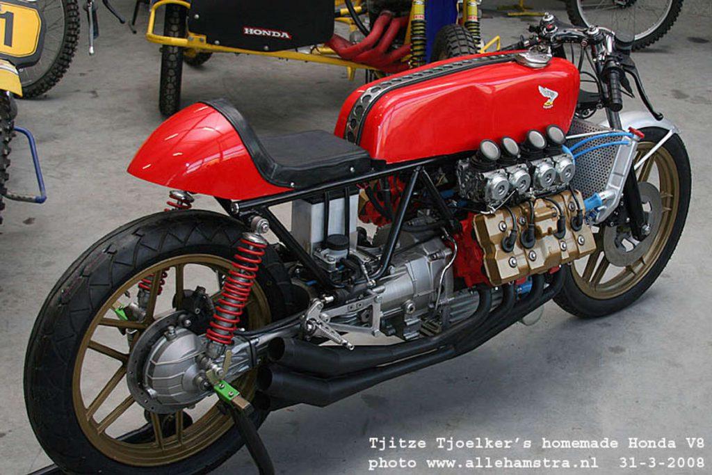 Honda Cafe Racer V8 by Tjitze Tjoelkers