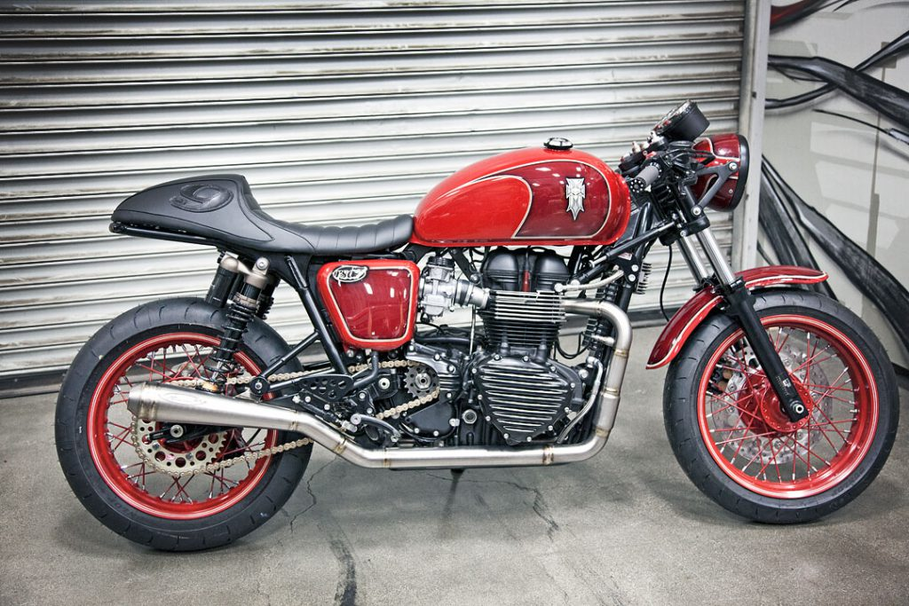 Triumph Thruxton Cafe Racer by Roland Sands