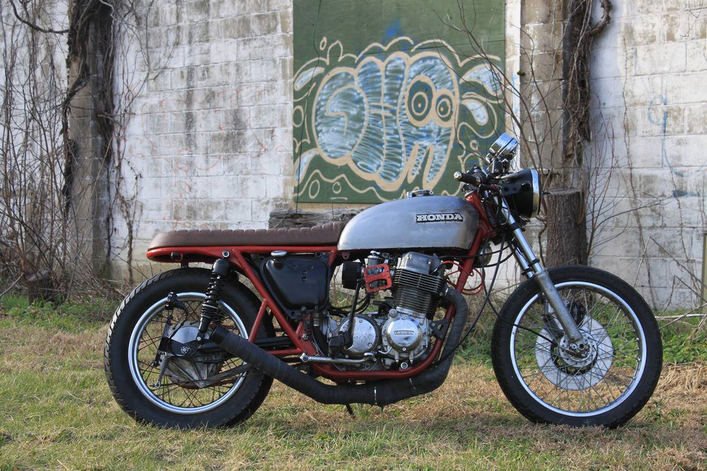 Honda CB750 Brat by Legion Cycle Works