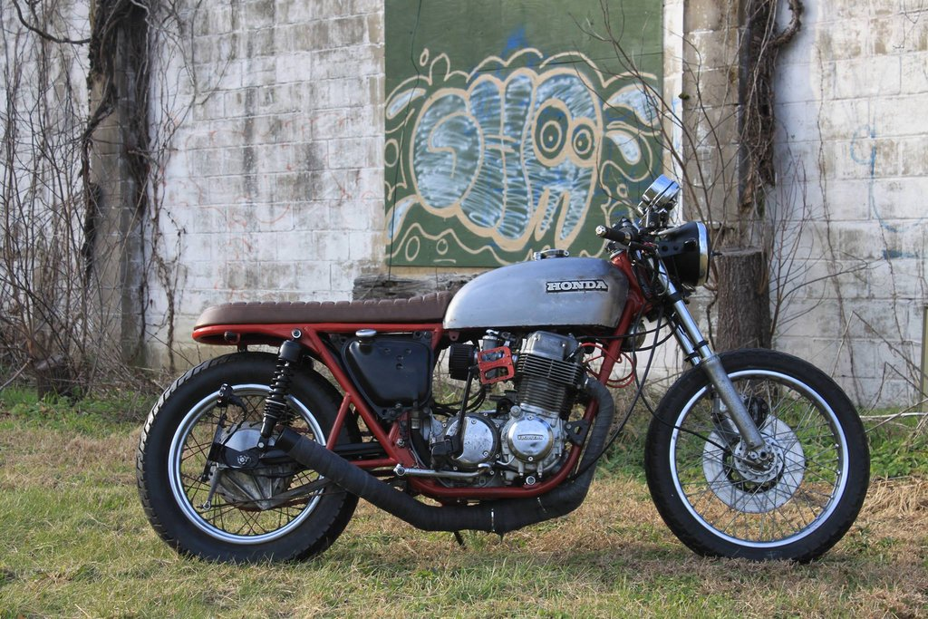 Honda CB750 Brat by Legion Cycle Works