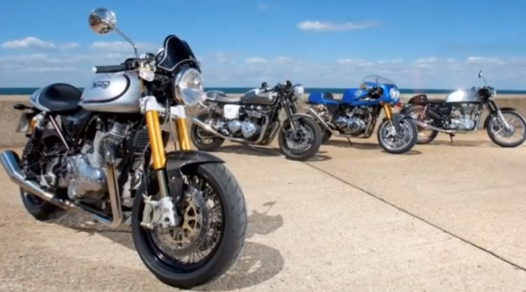 Norton, Triumph, Enfield, Hyde Motorcycle Tests