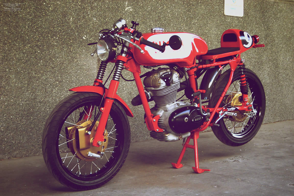"""Ducati Cafe Racer """"Carallo Sport"""" by Radical Ducati"""
