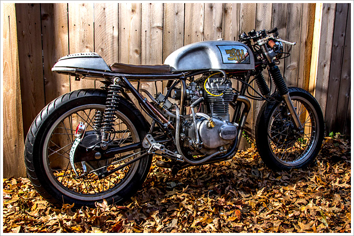 Honda CB360 Cafe Racer, The 3RM Project