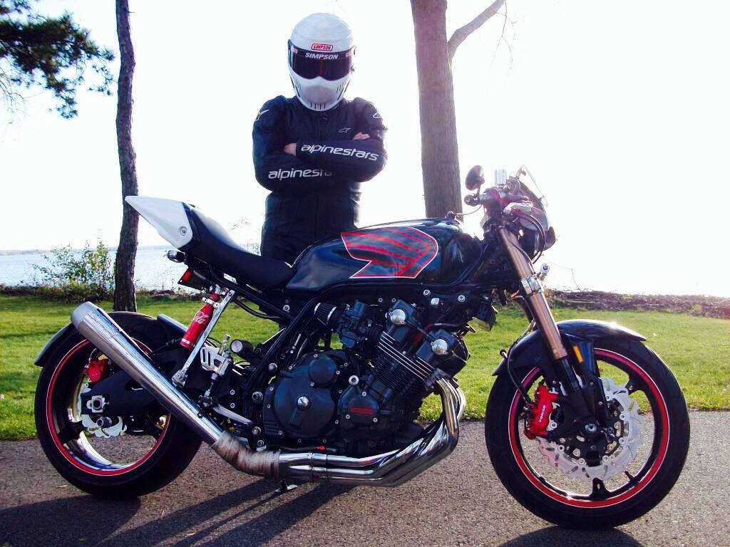 Honda CBX1000 Cafe Racer by Mike Common