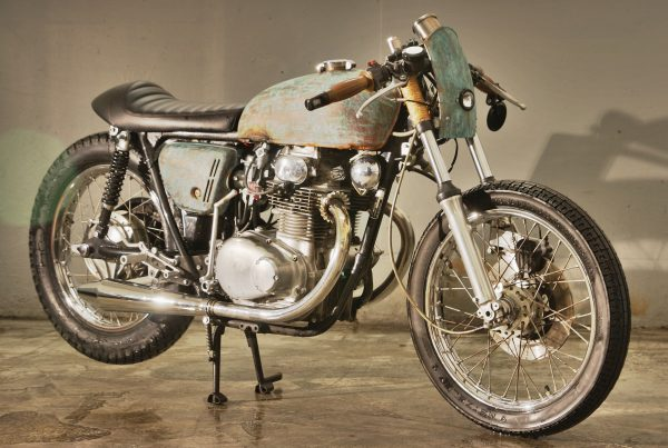 Honda Cb250 Cafe Racer Little Liberty by Klassik Kustoms - MotoMatter