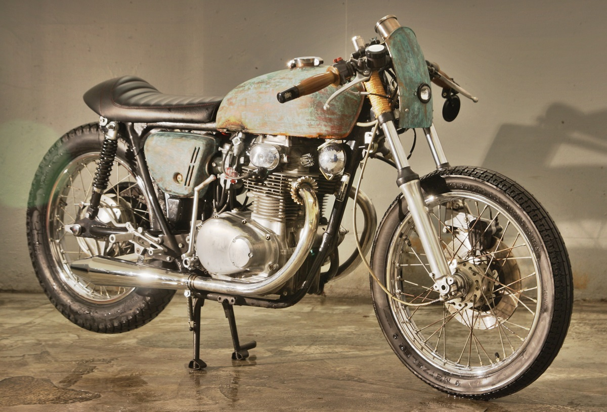 "Honda CB250 Cafe Racer ""Little Liberty"" by Klassik Kustoms"