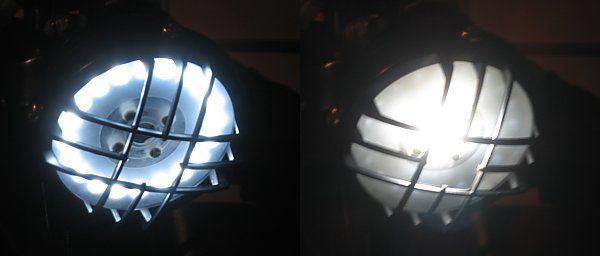 How To Make a LED Headlight for a Cafe Racer
