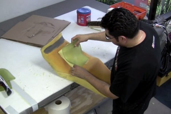 How-to-make-a-Cafe-Racer-Gel-Seat-Void - MotoMatter
