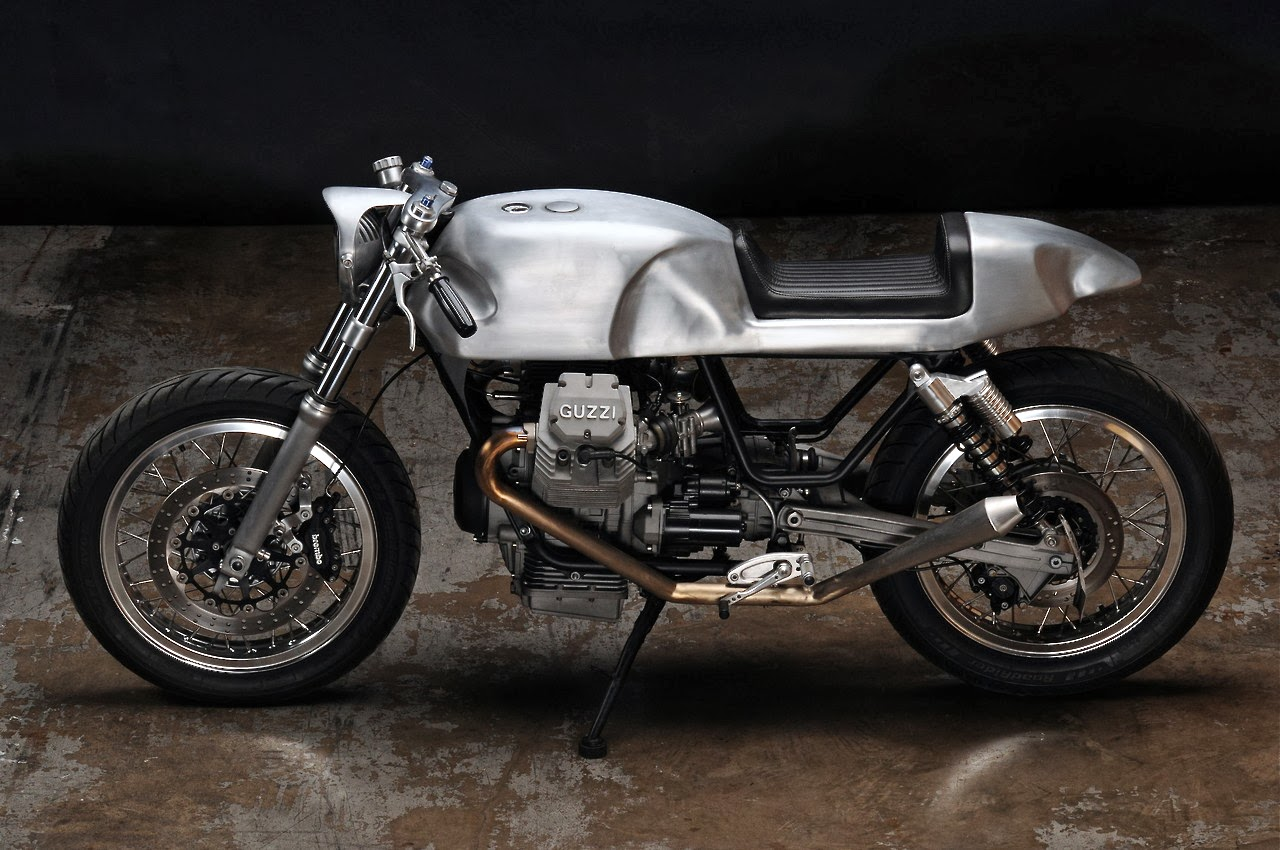 Moto Guzzi V7 Cafe Racer by Revival Cycles