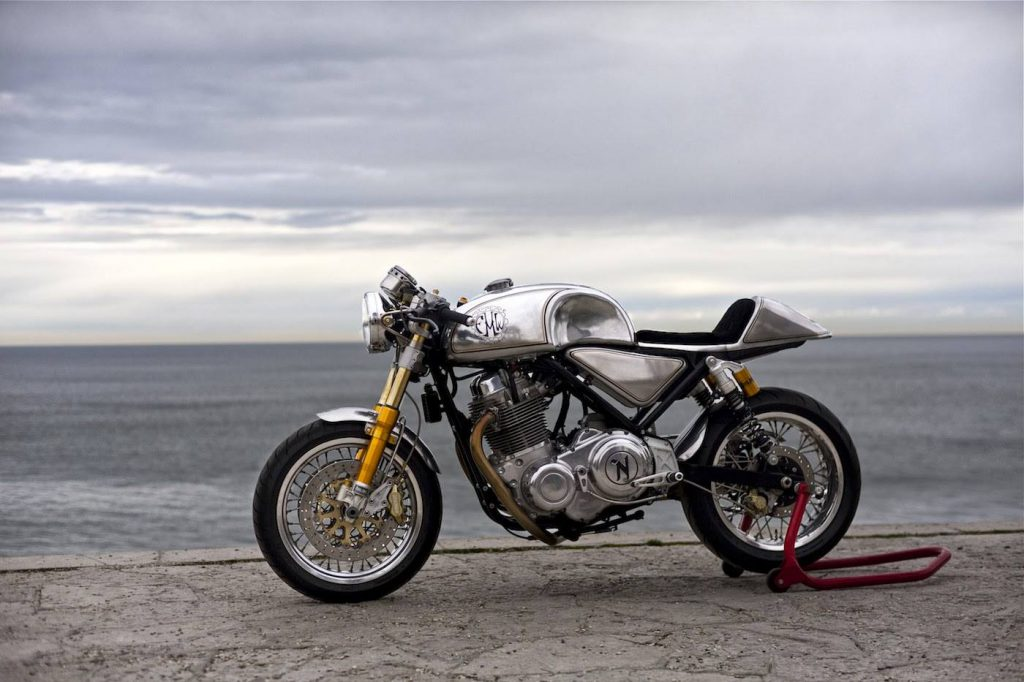 "Norton Commando Cafe Racer ""Metal Slug"""