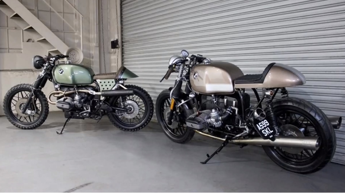 BMW Cafe Racers and Some BMW History