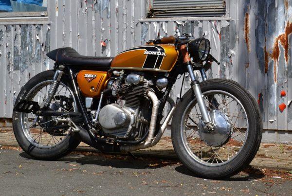 Honda CB250 Cafe Racer by Klassik Kustoms - MotoMatter