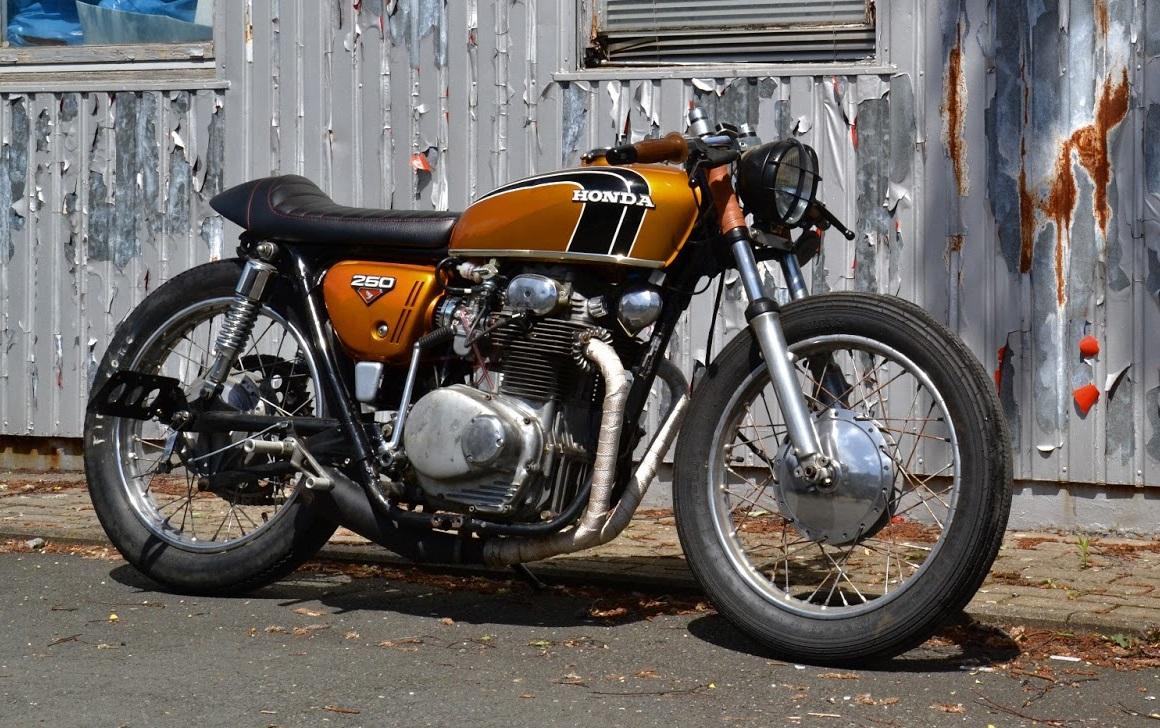 Honda CB250 Cafe Racer by Klassik Kustoms