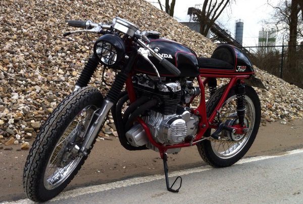 Honda CB350 Cafe Racer by Tim - MotoMatter