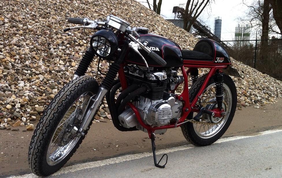 Honda CB350 Cafe Racer by Tim - MotoMatter
