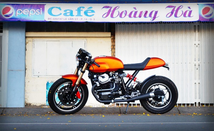 Honda CX650 Cafe Racer by TrungNT