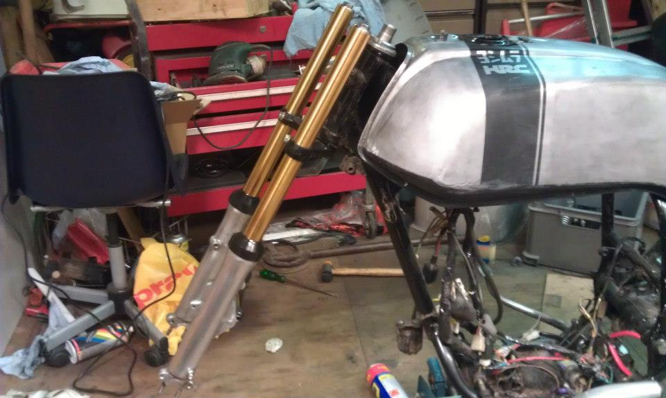 How to Anodize Cafe Racer Parts