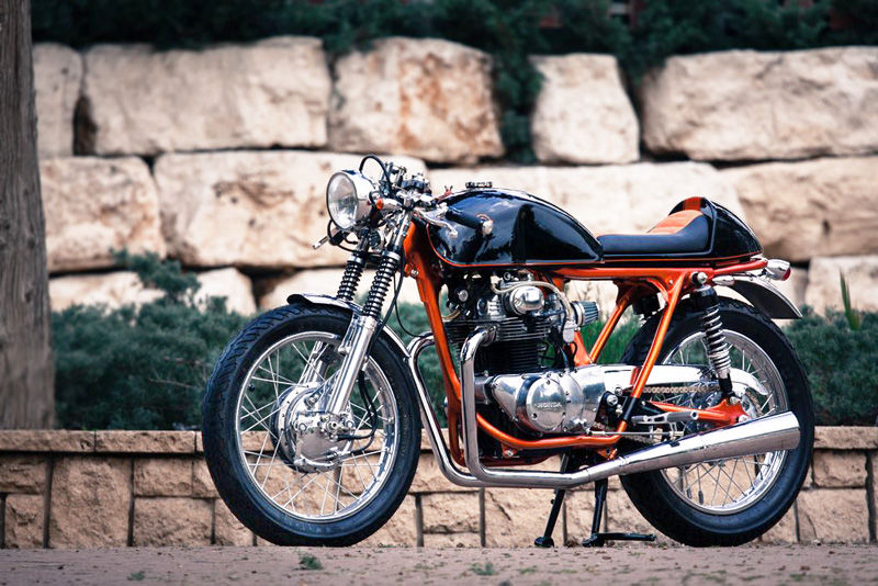 CB350 Cafe Racer by Back on Two