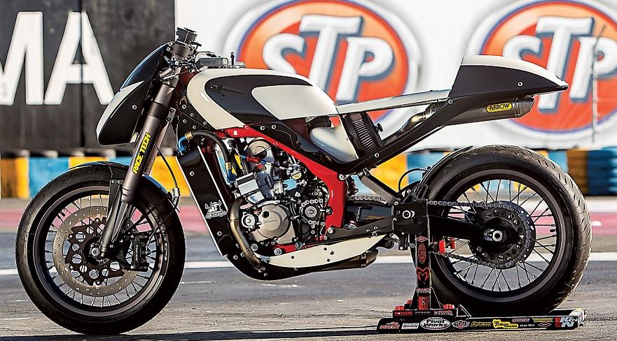DSR GP250R Cafe Racer - MotoMatter
