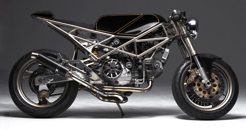 Ducati Monster Cafe Racer by Hazan Motorworks