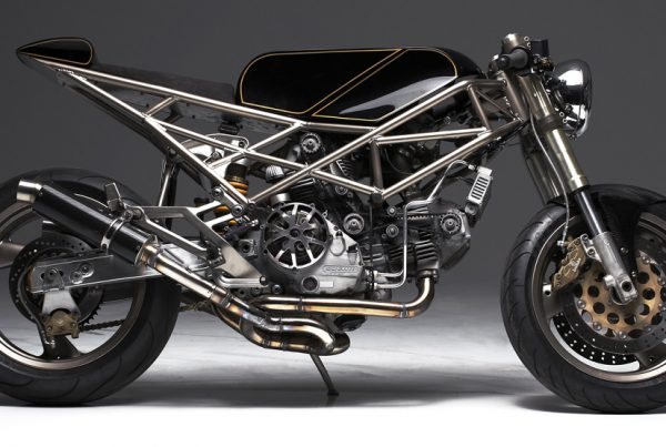 Ducati Monster Cafe Racer by Hazan Motorworks - MotoMatter