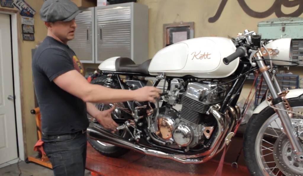 Honda CB750 1971 Cafe Racer by Kott Motorcycles