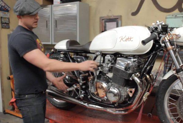 Honda CB750 1971 Cafe Racer by Kott Motorcycles - MotoMatter