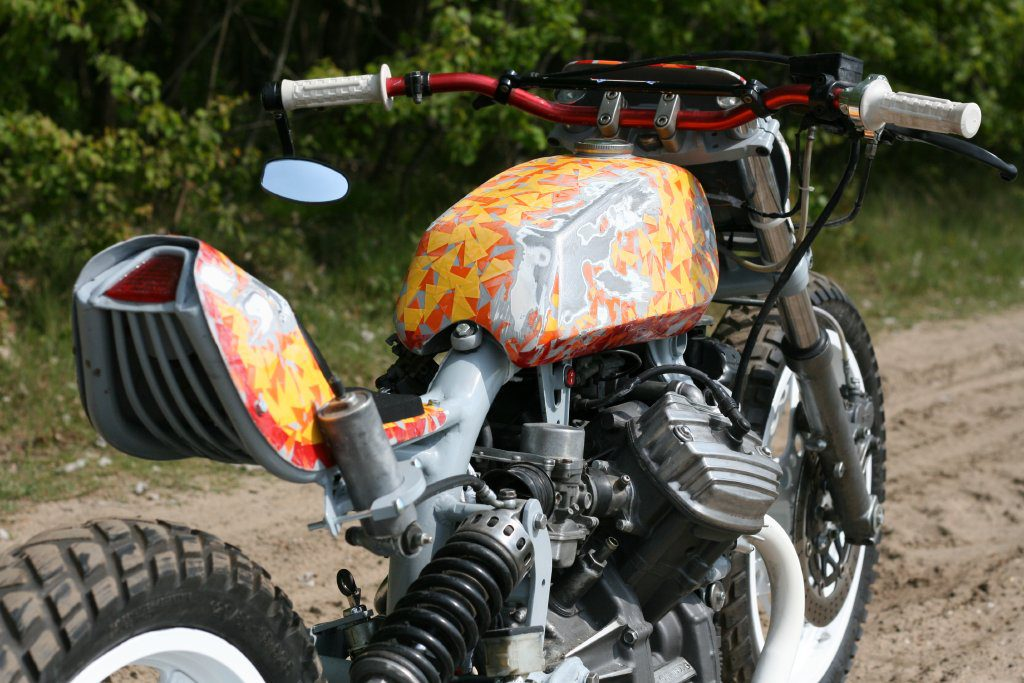 Honda CX500 Creation by Roel Scheffers