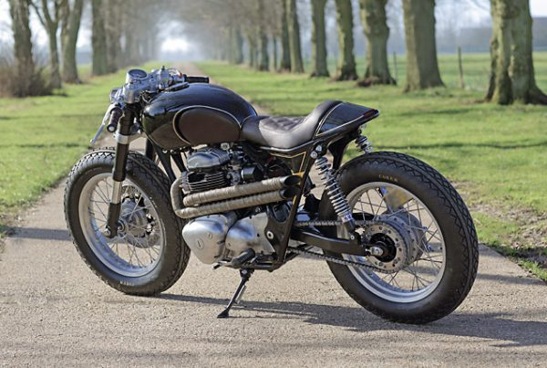 Kawasaki W650 Cafe Racer by Old Empire Motorcycles - MotoMatter