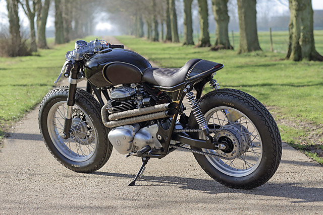 Kawasaki W650 Cafe Racer by Old Empire Motorcycles